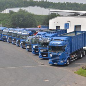 UP International GmbH - Lkw-Flotte