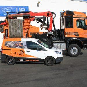 UP International GmbH - Firmenfahrzeuge