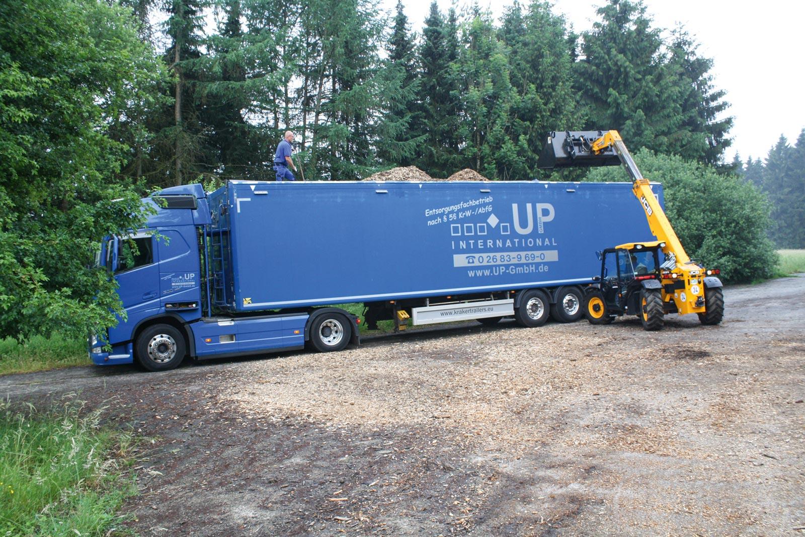 UP International GmbH - Transporte