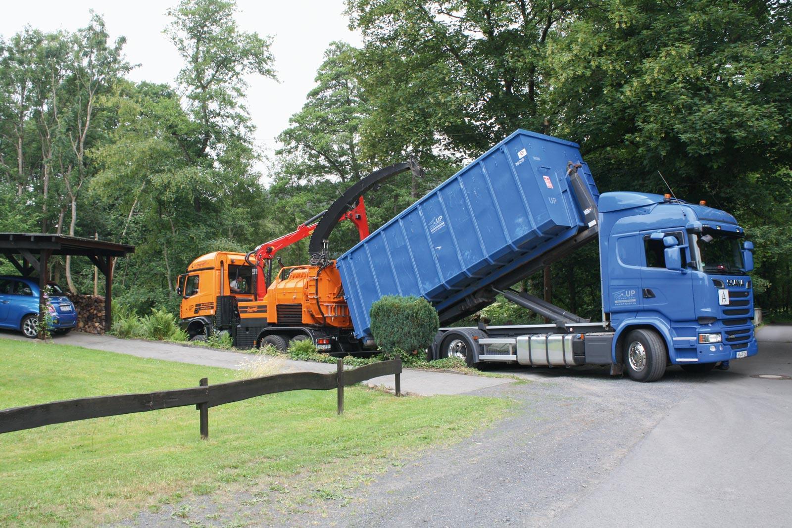 UP International GmbH - Fahrzeuge im Einsatz