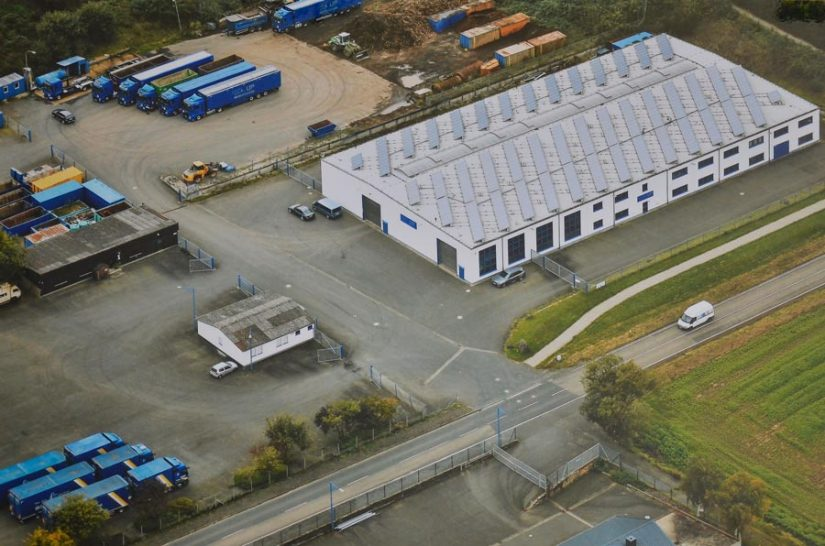 UP International GmbH - Luftaufnahme